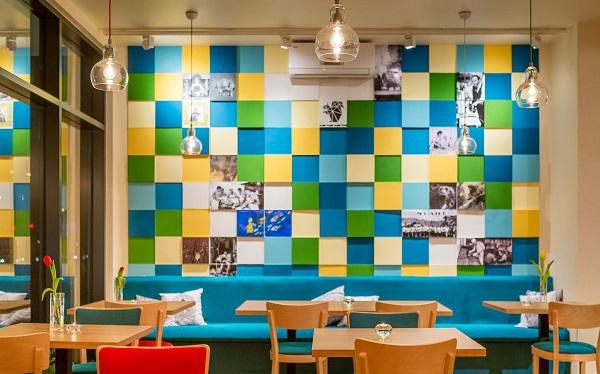 Panele dekoracyjne 3d w Restauracji Artyści od kuchni